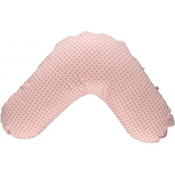 FossFlakes Ammepude med Småfolk pink