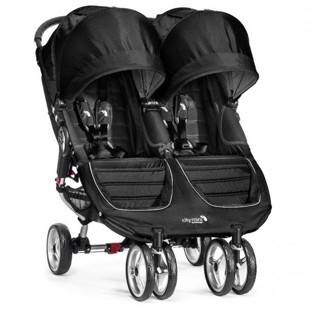 Baby Jogger City Mini tvilling Sort