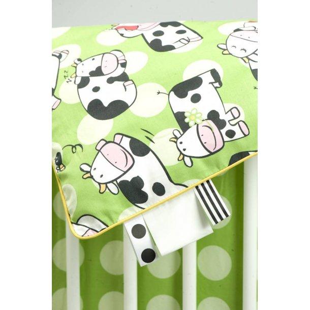 Babylinned Grøn ko