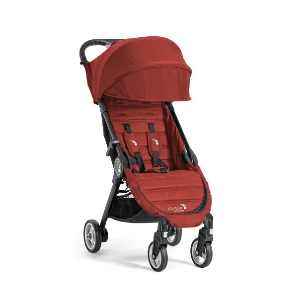 Baby Jogger City Tour Red, incl. rejsetaske