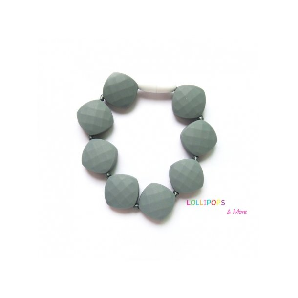 Lollipops armbånd Gummy Bear Grå