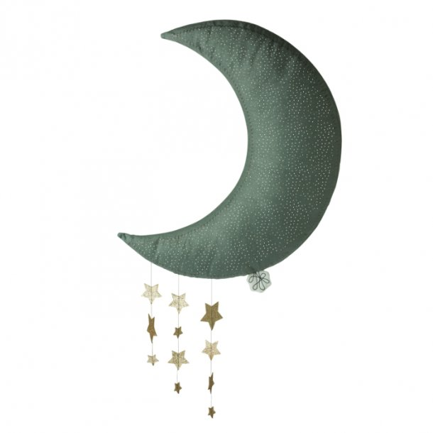 Måne uro Grå