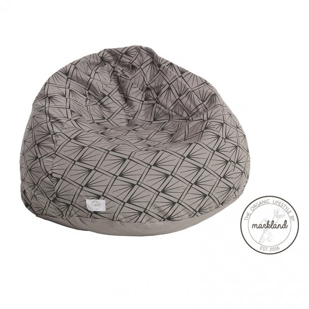 Markland sækkestol grå