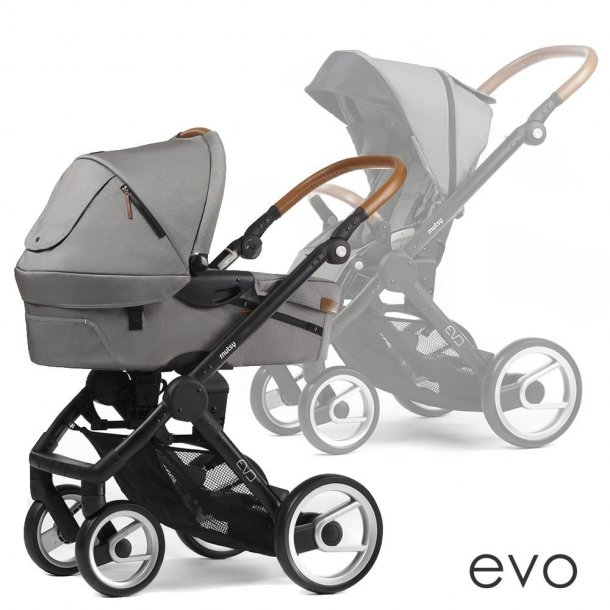 Mutsy Evo Nomad Light Grey kombivogn