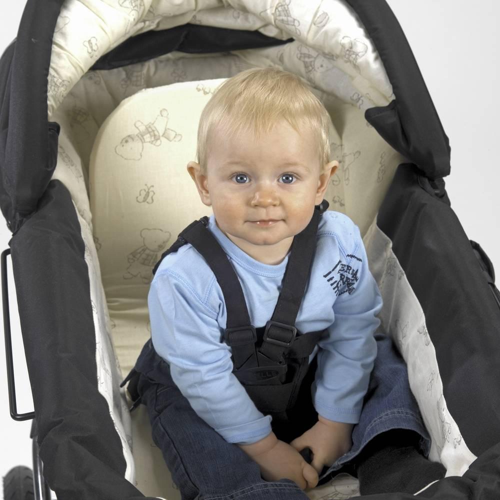Barnevognssele med varefakta fra Trille, til alle barnevogne