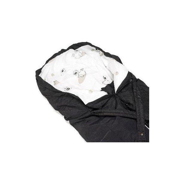 Trilleposen, sort med sæl motiv