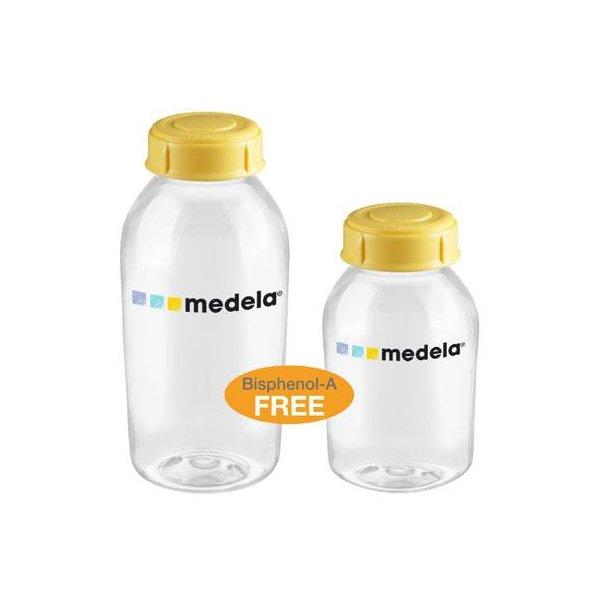 2 pak Medela sutteflasker 250 ml
