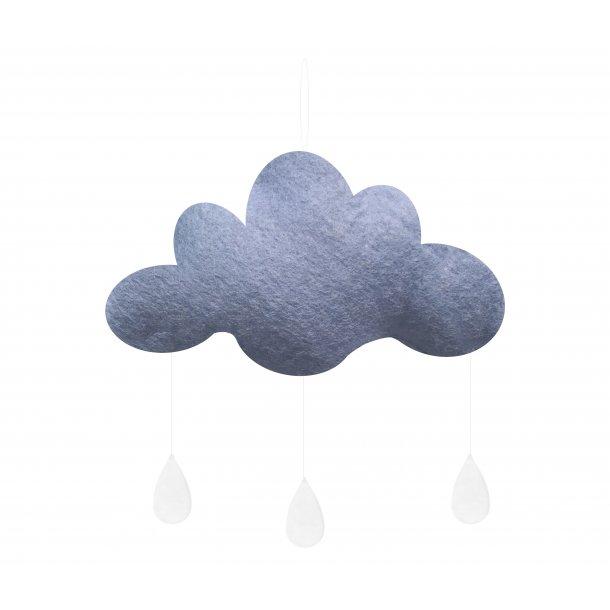 Gamcha filt sky lyseblå