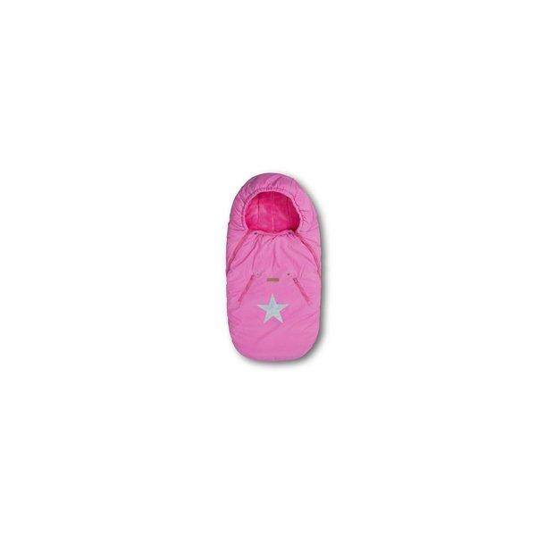 Trille stjernekørepose pink