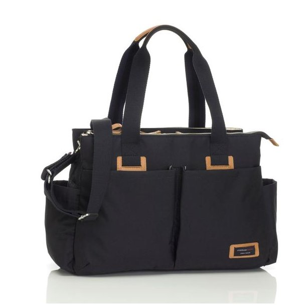 Storksak shoulderbag sort